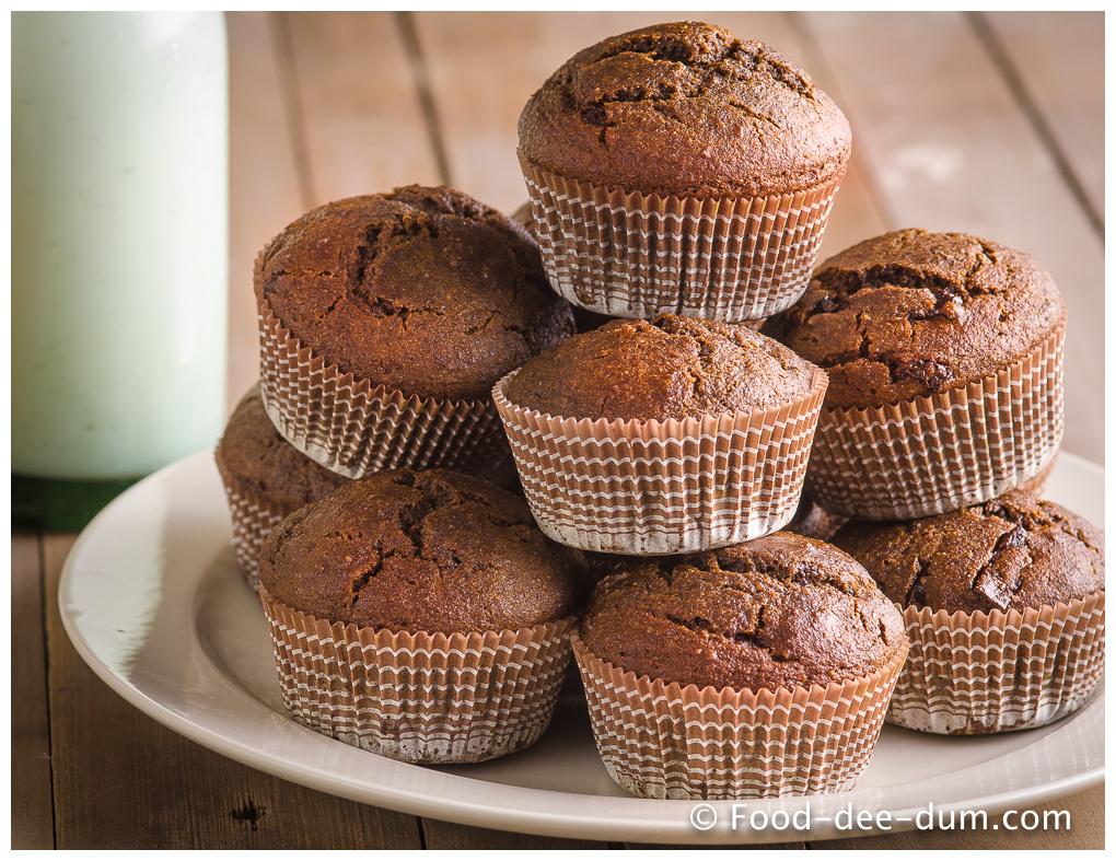 Espresso & Chocolate Chunk Muffins -