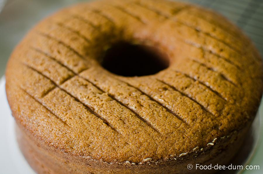 Brown Sugar Cake with White Chocolate Ganache and Strawberries-24