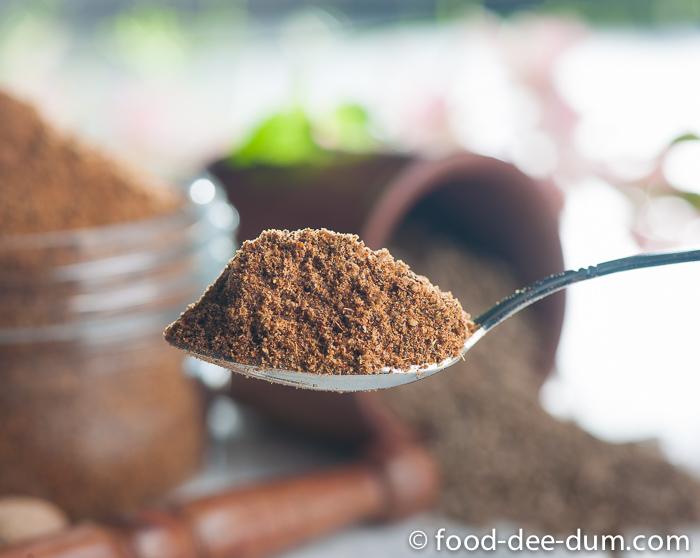 Homemade garam masala powder recipe food dee dum - Garam masala recette ...