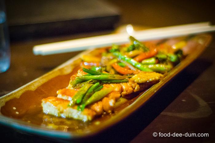 Teppanyaki Salmon