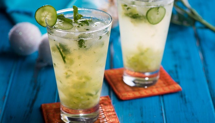 Summery Cucumber & Mint Cooler