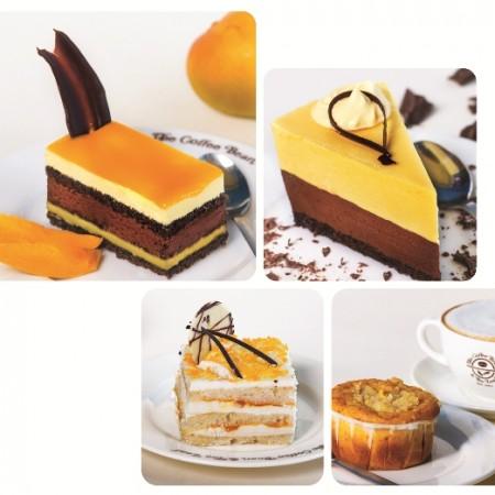 Mango Desserts by Coffee Bean & Tea Leaf