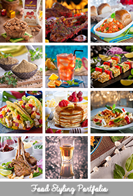 Commercial Food Styling Portfolio